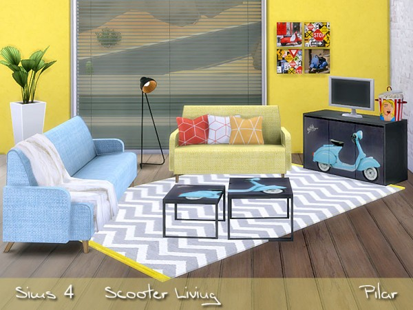 SimControl: Scooter Living by Pilar