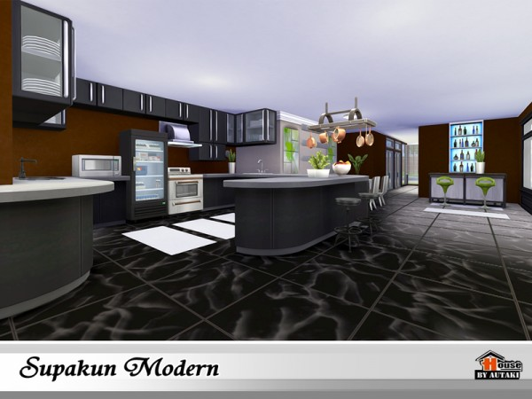 The Sims Resource: Supakun Modern by Autaki