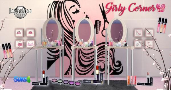 Jom Sims Creations: Girly corner set