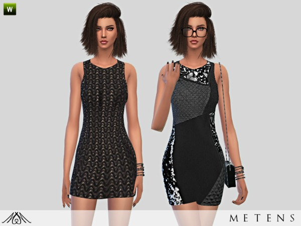 The Sims Resource: Elements   Dresses by Metens