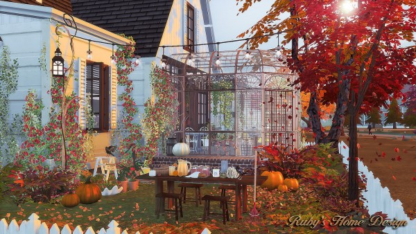 Ruby`s Home Design: Autumn Cottage
