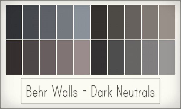 Simsrocuted Behr Walls Sims 4 Downloads