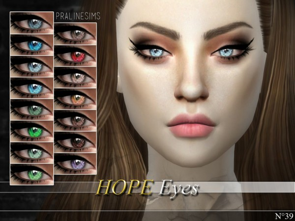 The Sims Resource Crystal Eyes Minipack N02 3 Eyes By
