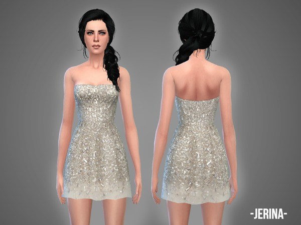 The Sims Resource: Jerina   dress by April
