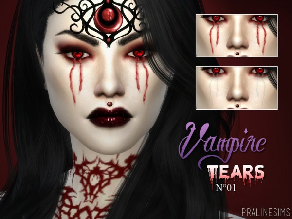 The Sims Resource: Pale Secret   Vampire Collection by Pralinesims