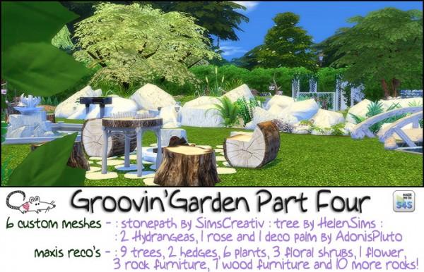 Loveratsims4: Groovin Garden Part 4