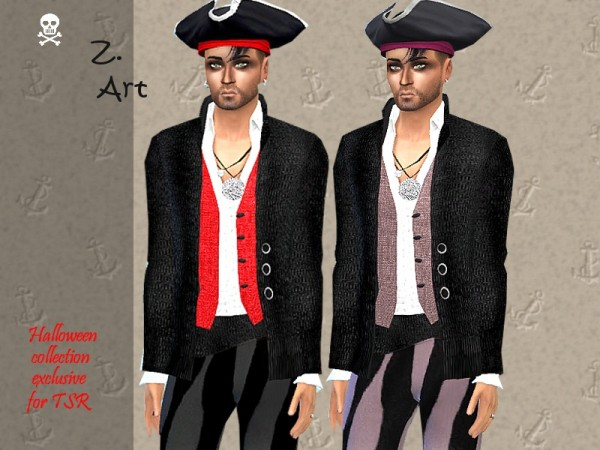 The Sims Resource: Captain Set by Zuckerschnute20