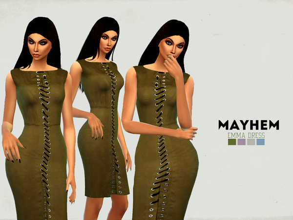 The Sims Resource: Emma Dress by NataliMayhem