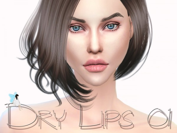 The Sims Resource: Dry Lips 01 by Ms Blue