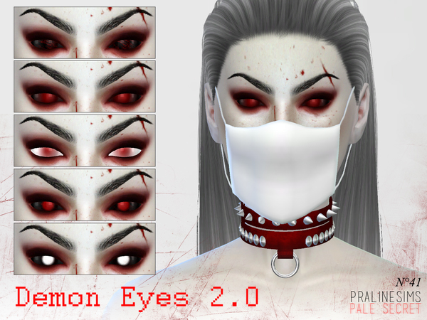 The Sims Resource: Demon Eyes 2.0   N41 by Praline Sims