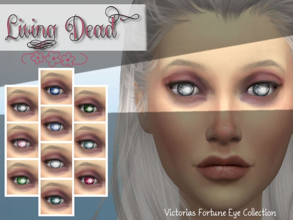The Sims Resource: Living Dead Eye Collection by fortunecookie1