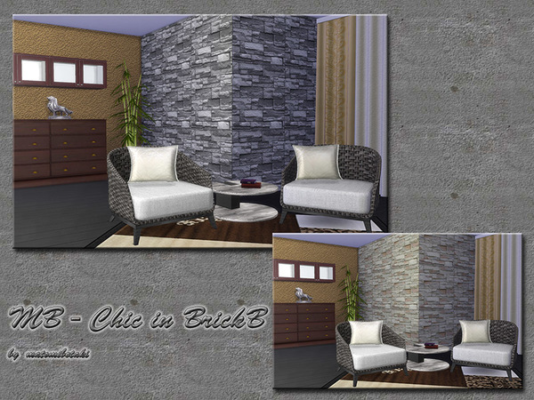 The Sims Resource: MB Chic in BrickB by matomibotaki