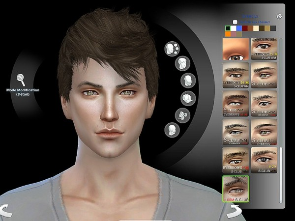 The Sims Resource: Eyebrows 05M  by S Club
