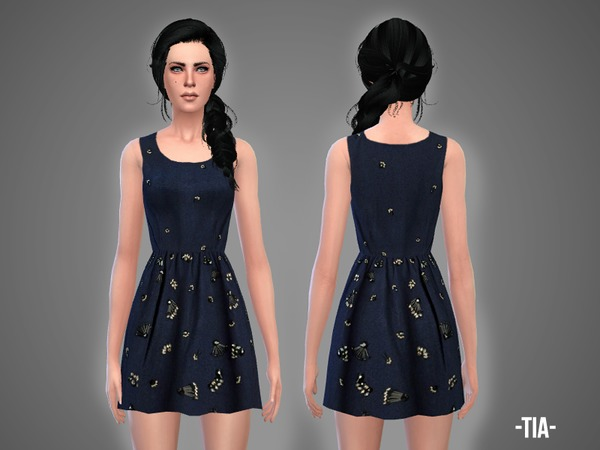 The Sims Resource: Tia   dress by April