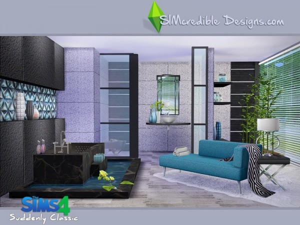 The sims resource suddenly classic by simcredible sims for Classic house sims 4