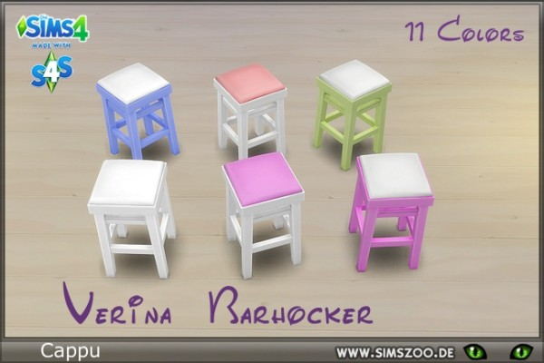 Blackys Sims 4 Zoo: Verina chair by Cappu
