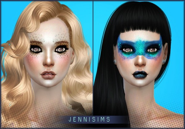Jenni Sims: EyeShadow Halloweeny