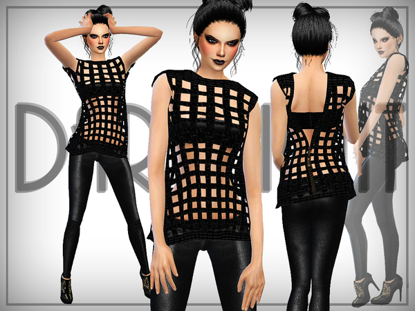 The Sims Resource: Squares (3D) top by DarkNighTt