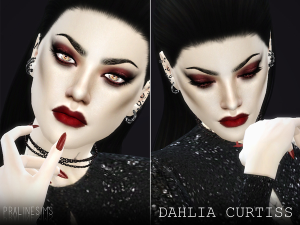 The Sims Resource: Dahlia Curtiss by Pralinesims