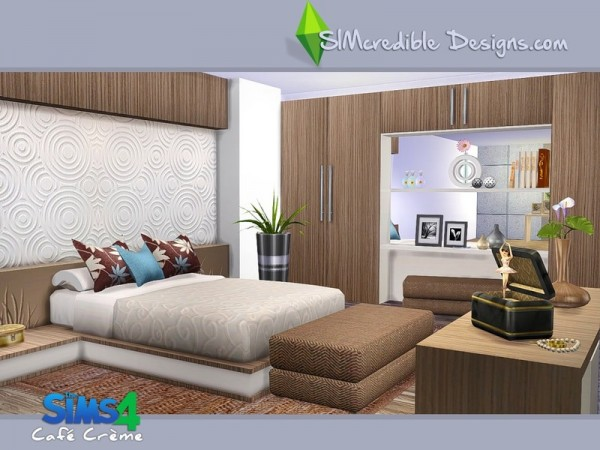 The Sims Resource Cafe Creme By Simcredible Design Sims
