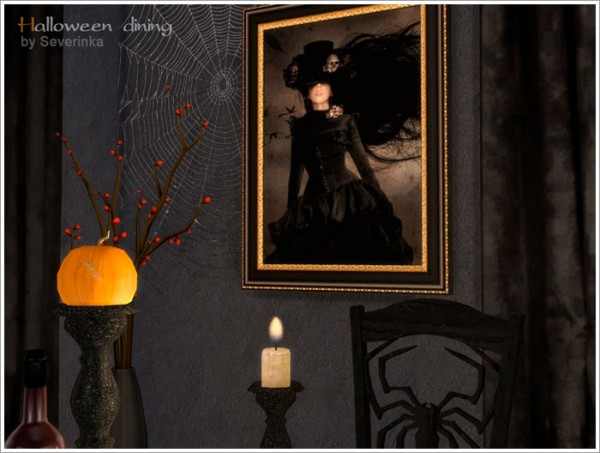 Sims by Severinka: Halloween dining
