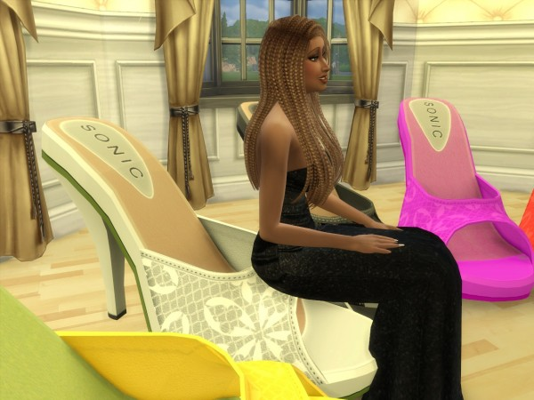 Mod The Sims High Heel Chair By Thesimsloverourcreation