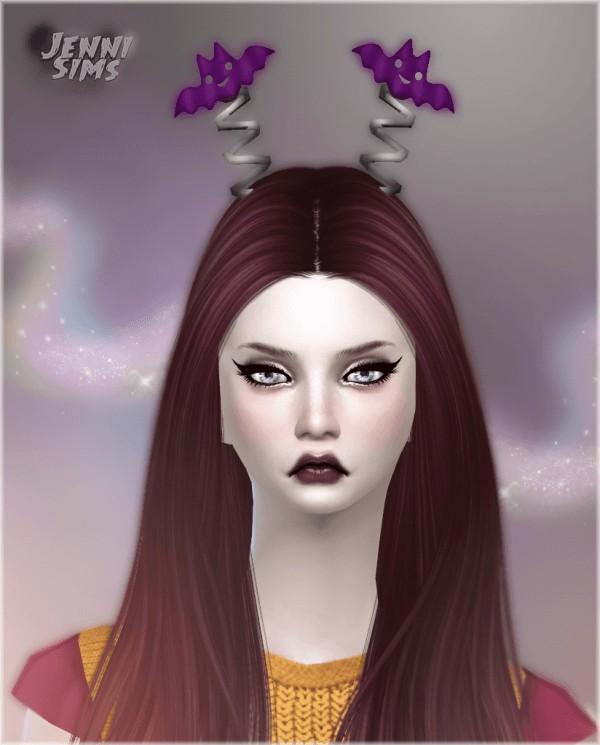 Jenni Sims: Set Accessory Halloween  Pumpkin Wand, Antenna Bats, Pumpkin