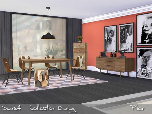 SimControl: Collector Dining by Pilar