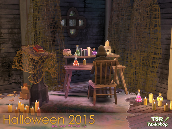 The Sims Resource: Halloween 2015 by sim man123