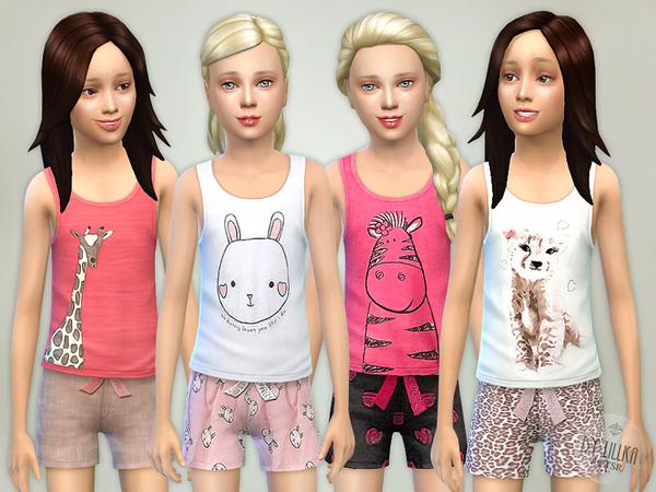 The Sims Resource: Good Night   Pyjama Set by lillka
