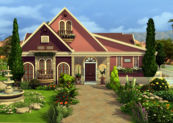 Mod The Sims: Rose Valley   NoCC! by una