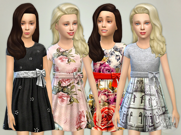The Sims Resource: Designer Dresses Collection P04 by lillka