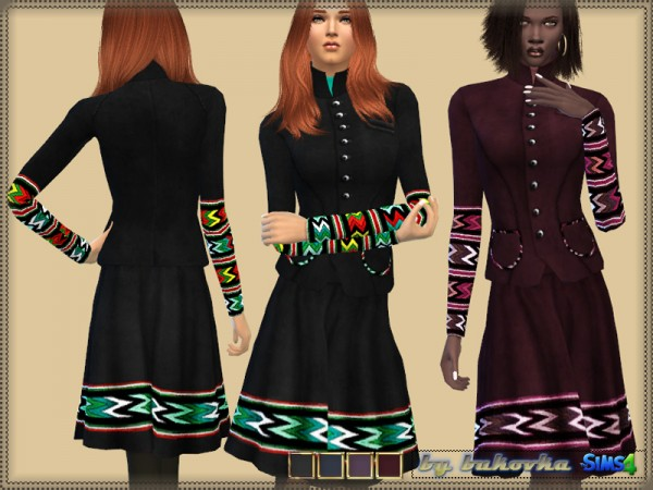 The Sims Resource: Folk Style set by bukovka