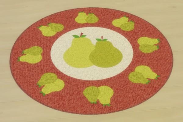 Blackys Sims 4 Zoo: Frutti rugs