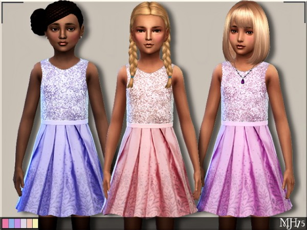 Sims Addictions: Sparkle Dress by Margies Sims
