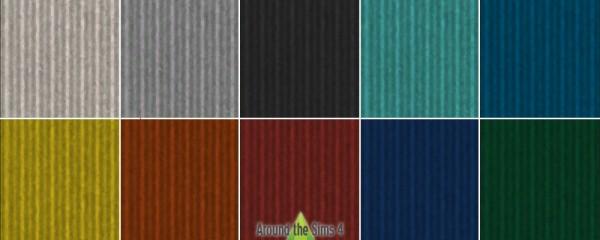 Around The Sims 4: Corrugated Iron Floor