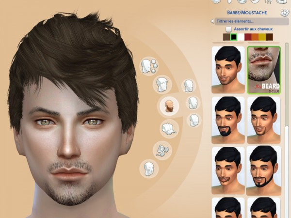 The Sims Resource: Beard 01 by S Club