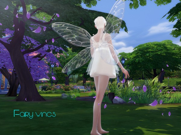 The Sims Resource: Fairy wings 01 by S Club