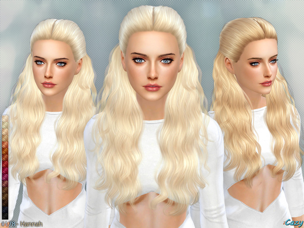 The Sims Resource: Hannah   Female Hairstyle by Cazy