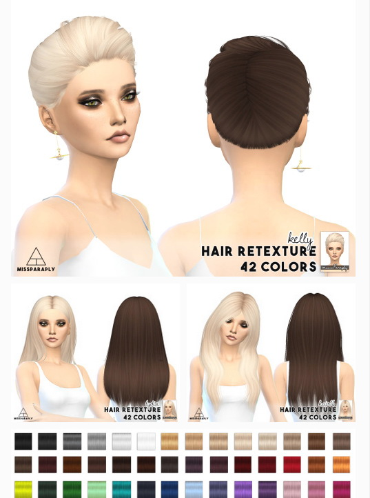 Miss Paraply: Hair retexture   Nightcrawler hairs