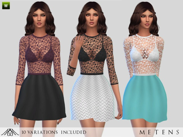 The Sims Resource: Valentine   Dress by Metens