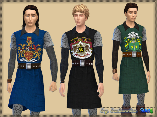 The Sims Resource: Knight Costume by Bukovka