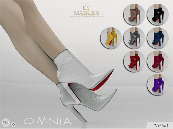 The Sims Resource: Madlen Omnia Boots by MJ95