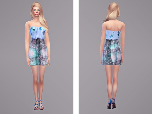 The Sims Resource: Zelda   Dress by Tangerinesimblr
