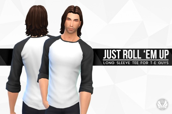 Simsational designs: Just Roll Em Up Tee