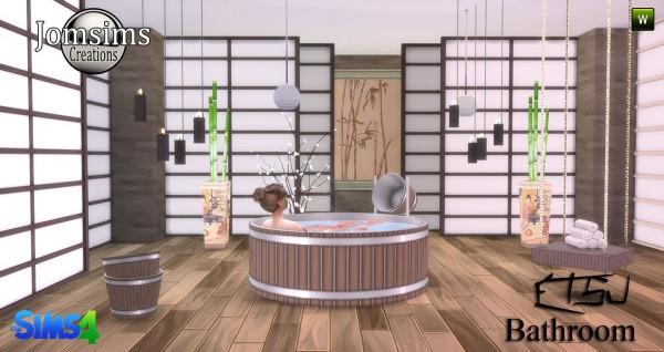 Jom Sims Creations: Etsu bathroom