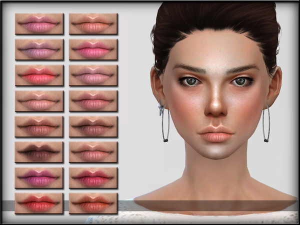 The Sims Resource: Lips Set 17 by ShojoAngel