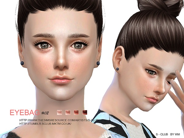 The Sims Resource: Eyebag 02 by S Club