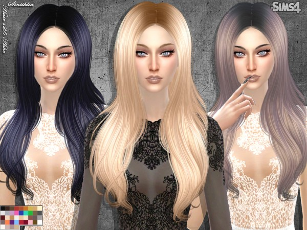 The Sims Resource: Sintiklia   Hair s25 Ashe