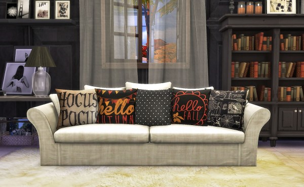 Ruby S Home Design Sv Pillow Set Recolors Sims 4 Downloads